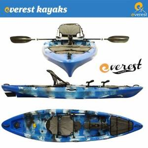 Everest 4m Pro Fishing Sit On Kayak Package! Brendale Pine Rivers Area Preview