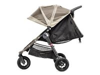 FOR SALE: Brown Baby Jogger City Mini 3 Wheel Single Pushchair, Brown/Silver (£105.00)
