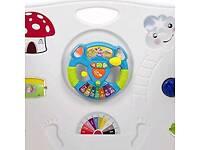 BABY VIVO PLAYPEN COLORS PLASTIC WITH DOOR