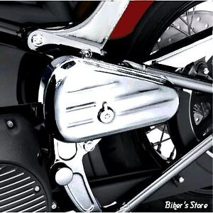 H-D SOFTAIL TOOLBOX - LEFT, CHROME