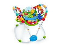 Baby jumperoo play area