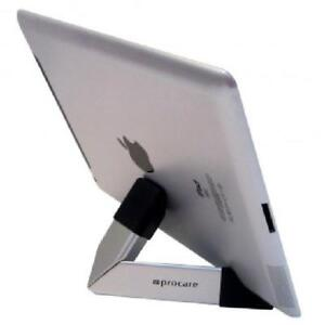Procare Tablet Stand and Cleaning Kit Cradle- Silver/Black