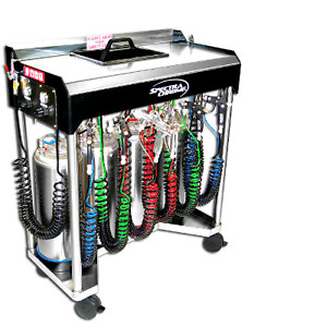 Spray-on chroming system for sale.