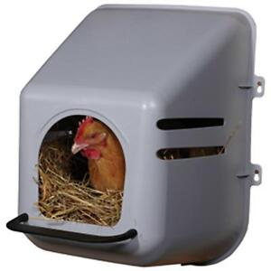 Plastic nest boxes