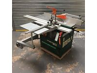 "Record Maxi 26 10""table saw/planer/thicknesser/spindle moulder/slot mortiser"