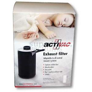 """Exhaust Activac Filter Fits 2"""" Central Fitting Or Muffler"""