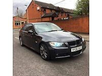 2006 06 BMW 330D M SPORT BLACK 6 SPEED MANUAL    * £2300