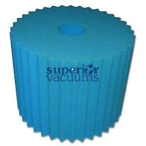 """Filter For Central Vacuums Blue Designed To Fit Aerus Lux Electrolux 8 1/2"""" X 7""""High"""