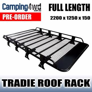 ROOF RACK *PRE-ORDER NOW* FULL LENGTH OPEN ENDED TRADESMAN