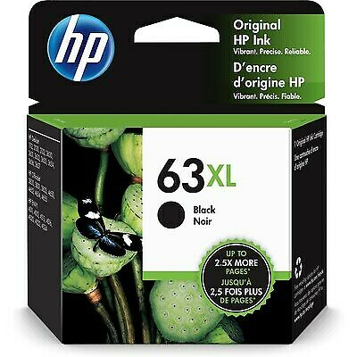 HP 63XL | Ink Cartridge | Black | ~480 pages | F6U64AN