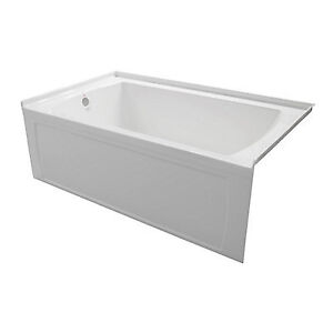 Valley Oro 60x30 Skirted Tub With Lefthand Drain