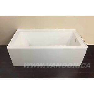 "25% OFF! VANOON 60"" x 30"" Bath Tub -  (arm-rests available)"