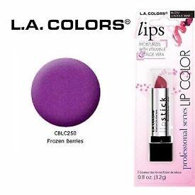 LA Colours Frozen berries lipstick - sealed