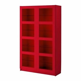 Ikea Red Bergsbo Cupboard in good condition