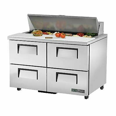 True Tssu-48-12d-4-ada-hc 48 Sandwich Salad Unit Refrigerated Counter