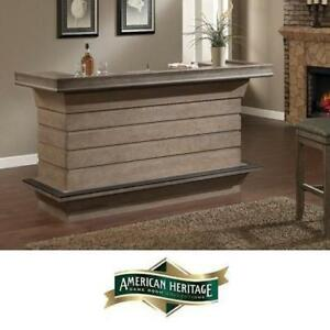 "NEW* AHB CALIENTE 78.5"" HOME BAR - 122804965 - AMERICAN HERITAGE BILLARDS BARS WINE CABINET CABINETS STORAGE SERVING ..."