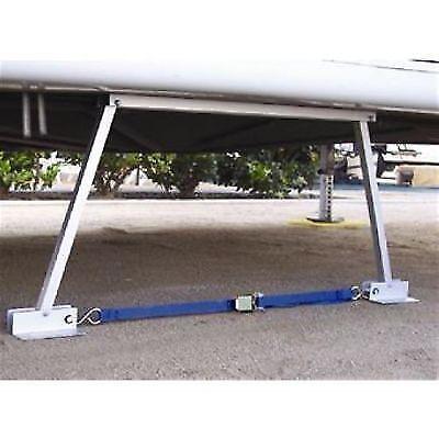 Valterra 020106 RV Wheel Travel Trailer Stabilizer Jack Stand Outdoor Off-Road