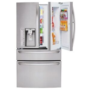 Brand New LG 4 Door (Door in Door) Stainless Steel Refrigerator