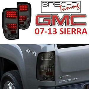 For Chevy Silverado 1500 2007-2013 Carrichs Chrome Tail Light Bezels