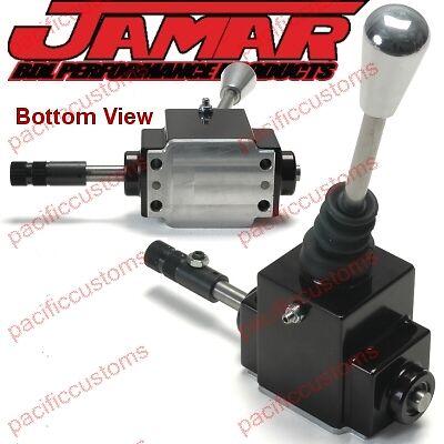 Jamar ProX Shifter Black Machined Billet Aluminum 4 Speed w/ Reverse Lockout