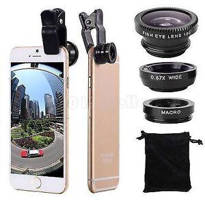 MACRO WIDE ANGLE LENS FOR CELL PHONE BRAND NEW IN BOX