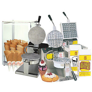 Waffle Bakers, Waffle Maker, and Mixes - FOR SALE/RENT