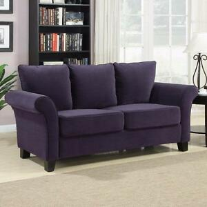 Paget Sofa by Beachcrest Home Purple NEW