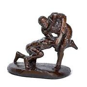Wrestling Sculpture