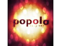 Popolo Newcastle | Currently Hiring Head Bartender, Full time/part time bar staff.