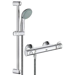 Bekannt GROHE 34565000 Grohtherm 800 Thermostatic Shower Mixer with Shower AK62