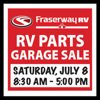 RV Parts Garage Sale