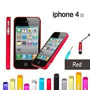 iPhone 4 Bumper Red