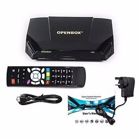 Openbox v9s satellite receiver brand new sealed Skybox f5s v8s