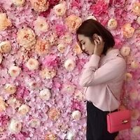 Beautiful flower wall for your next event
