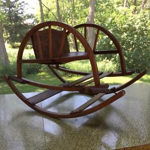 Antique Wooden Rocking Chair Cornwall Ontario image 1