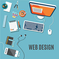 WEB DESIGN, HOSTING, DOMAIN, EMAIL and SETUP