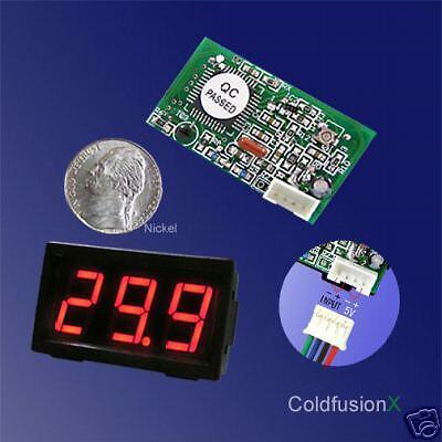 Dc 99.9a Mini Red Led Digital Current Amp Panel Meter