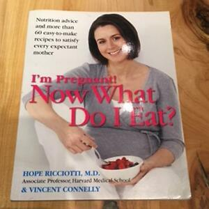 Pregnancy books: nutrition/dietary needs and eating