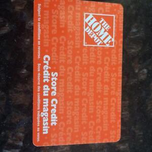 Home Depot gift cards for sale