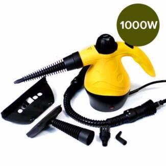 1000 Portable Handheld Steam Cleaner Yellow Floor Carpet Steamer