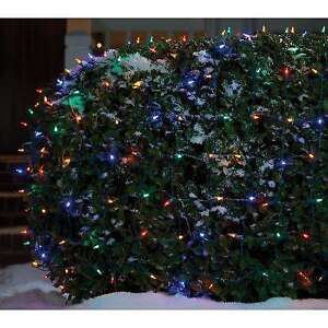 225 Colored Christmas Outdoor Net light