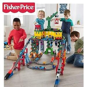 NEW FISHER PRICE TRAIN PLAYSET FPM59 244466346 THOMAS AND FRIENDS SUPER STATION
