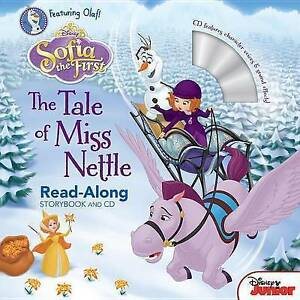 Sofia the First: The Tale of Miss Nettle [With Audio CD] By Disney Book Group