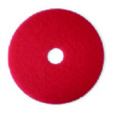 17 Red Buffer Floor Pad - Pack Of 5