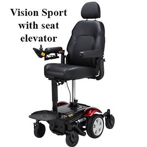 """Power Wheelchair with 7"""" Seat Lift (BRAND NEW)"""