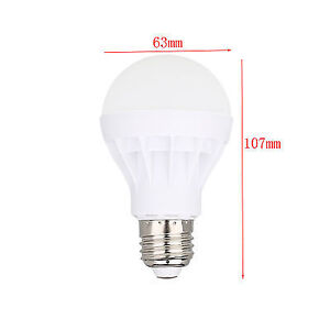 LED E27 Energy Saving Bulb Light 7W Globe Lamp 110V