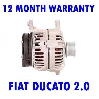 FIAT DUCATO 2.0 2002 2003 2004 2005 2006 2007 - 2015 REMANUFACTURED ALTERNATOR