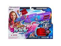Nerf Gun Rebelle Secrets and Spies Messenger 3 cartridge Blaster IS