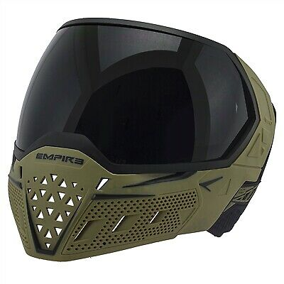 Empire EVS Team Edition Paintball Mask / Paintball Goggles - Olive & -