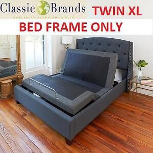 NEW ADJUSTABLE BED BASE W/ REMOTE 126010-5020 136368817 TWIN XL  WITH MASSAGE CLASSIC BRANDS